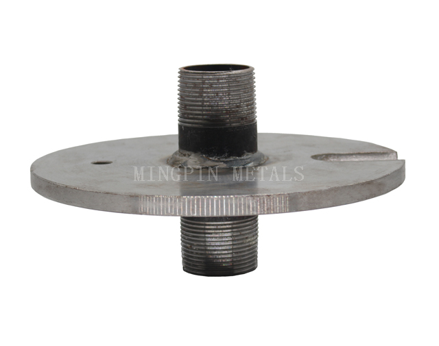 Flange with Steel Pipe